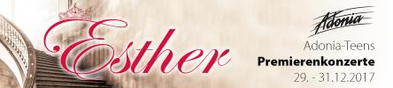 Musical Esther Silvesterkonzerte